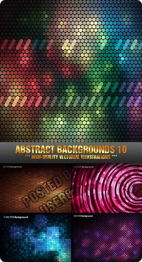 Stock Vector - Abstract Backgrounds 10