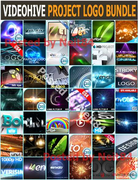 VIDEOHIVE After Effect Project LOGO BUNDLE 2011