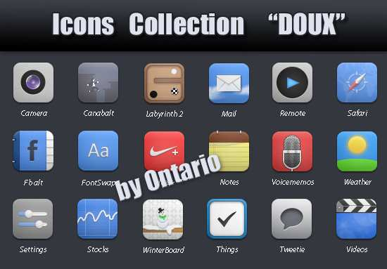 "Icons Collection ""Doux"""