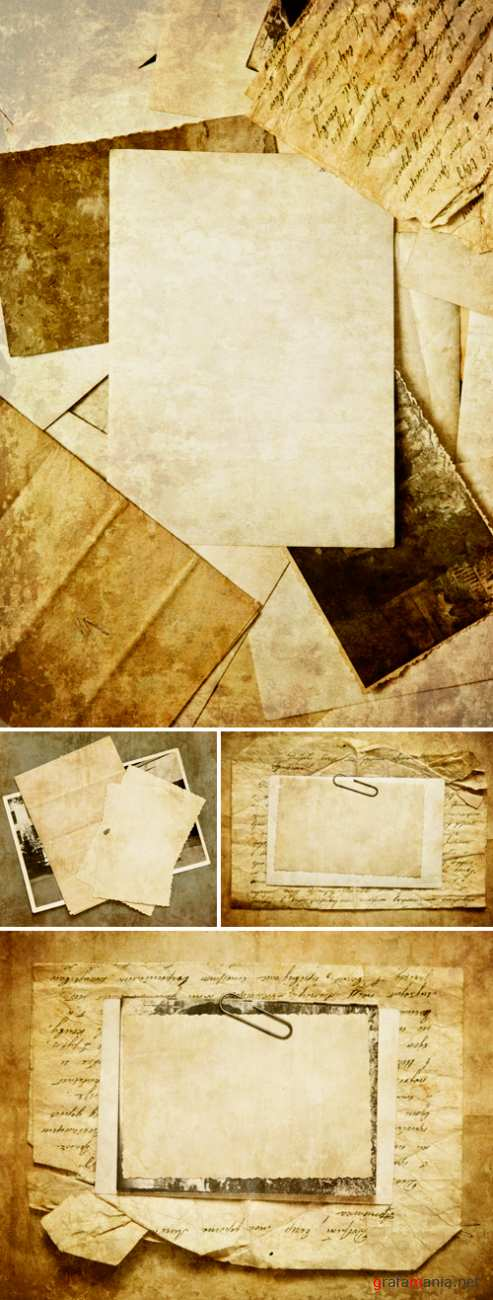 Stock Photo - Vintage Paper Backgrounds