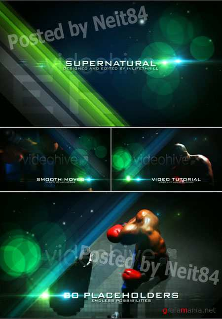 After Effect project Supernatural 107306