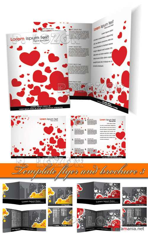 Template flyer and brochure 3