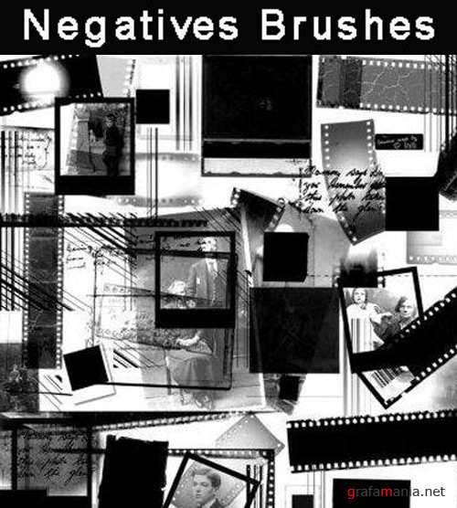 Negatives Brushes