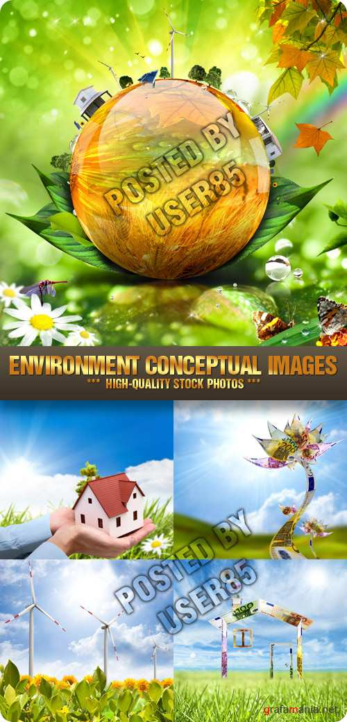 Stock Photo - Environment Conceptual Images