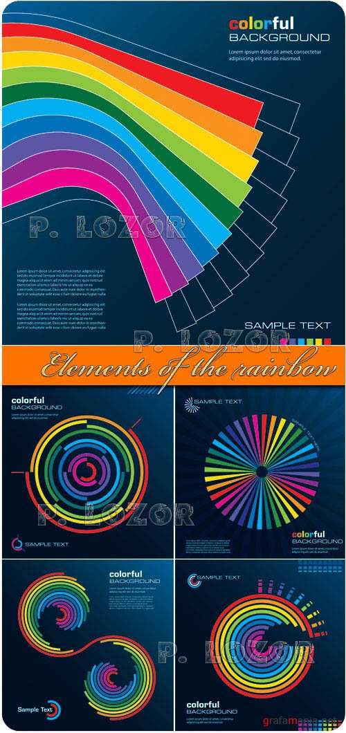 Elements of the rainbow