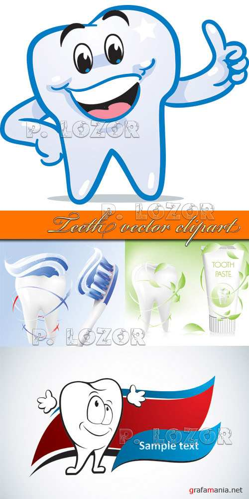 Teeth vector clipart
