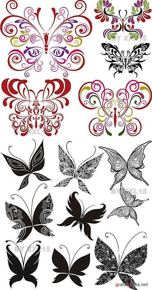 Butterfly elements set