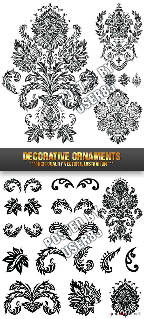 Stock Vector - Decorative Ornaments