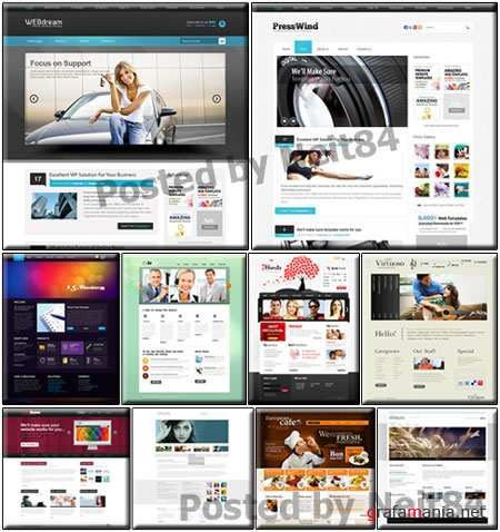 Templates Website Dynamic CSS in March P2