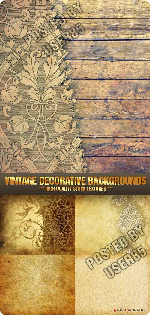 Stock Photo - Vintage Decorative Backgrounds
