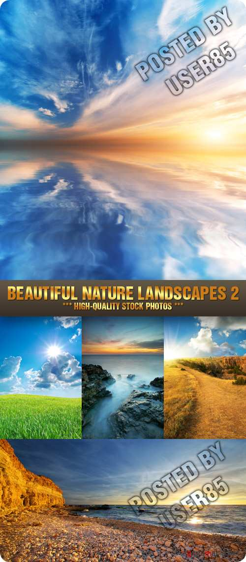 Stock Photo - Beautiful Nature Landscapes 2