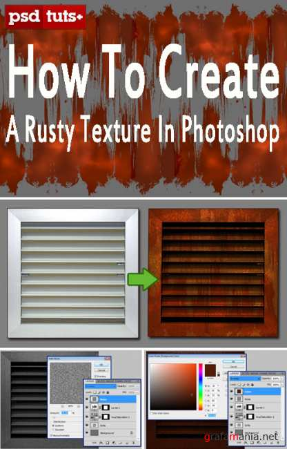 How to Create a Rusty Texture in Photoshop