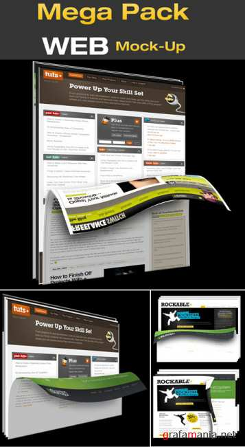 GraphicRiver - Layouts for Web Page Design