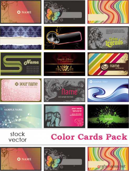 ��������� ������� - Color Cards Pack