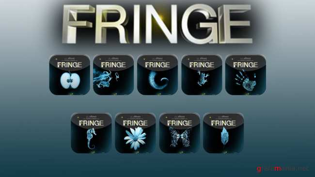 Fringe Movie Folder Collect Icons