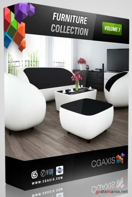 3D models V7 Furniture of CGAxis