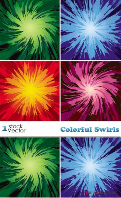 Colorful Swirls Vector