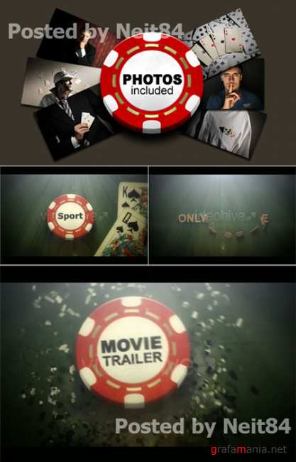 After Effect project POKER Movie Trailer 87329