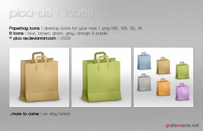 Paperbag Icons