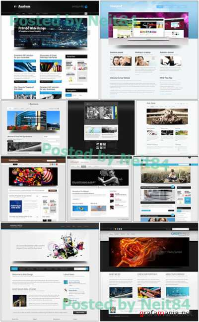 Dynamic CSS Templates Website in March