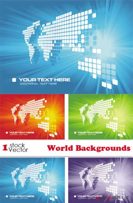 World Backgrounds Vector