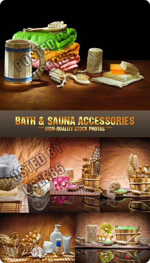 Stock Photo - Bath & Sauna Accessories