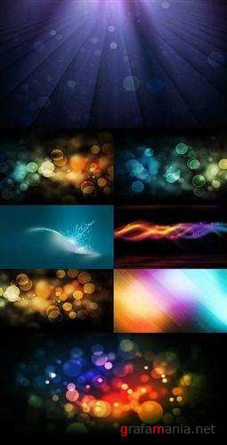 Varicoloured abstract backgrounds
