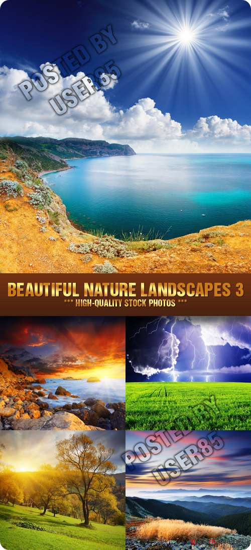 Stock Photo - Beautiful Nature Landscapes 3