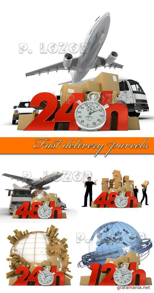Fast delivery parcels