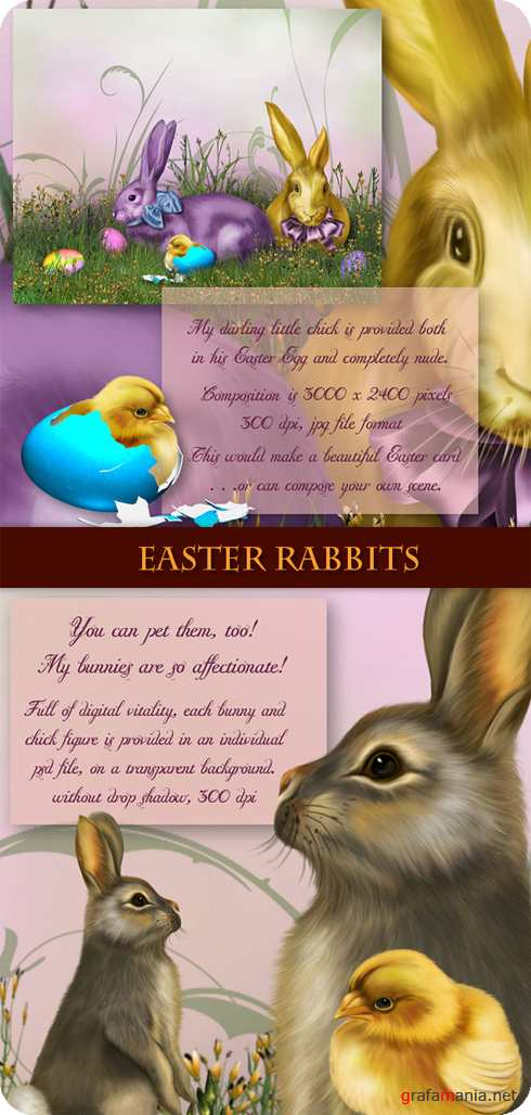 ���������� �������. Easter rabbits