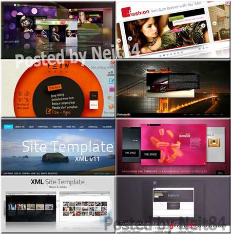 8 Templates Activeden Collection in March