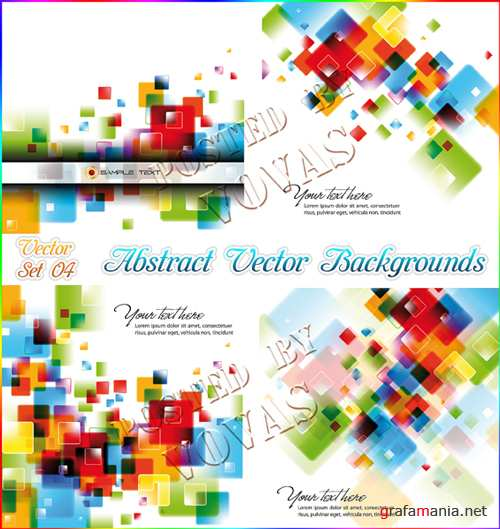 Abstract Vector Backrounds04