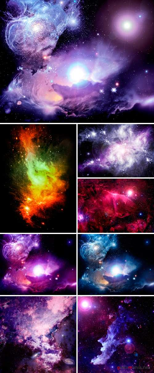 Stock Photo - Fantasy Space Nebula