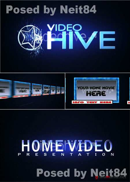 After Effect project HOME VIDEO Presentation 91752