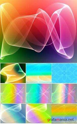13 Colorful abstract backgrounds