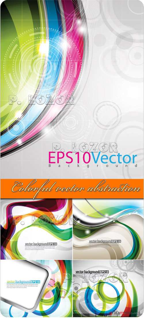 Colorful vector abstraction