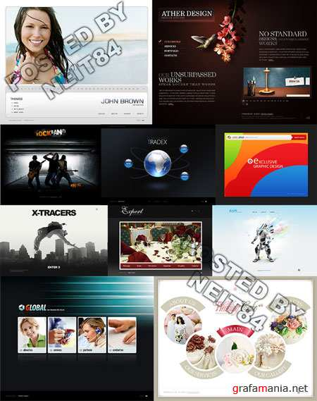 10 Flash Template Website K25 P2
