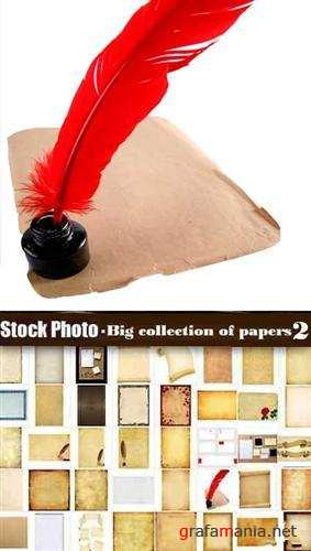 Stock Photo - Big collection of papers 2
