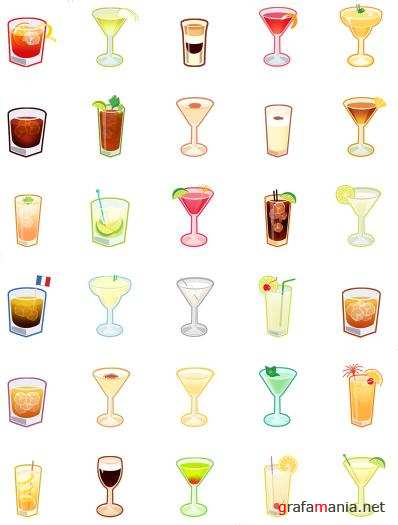 ������ �������� / Cocktails Icons