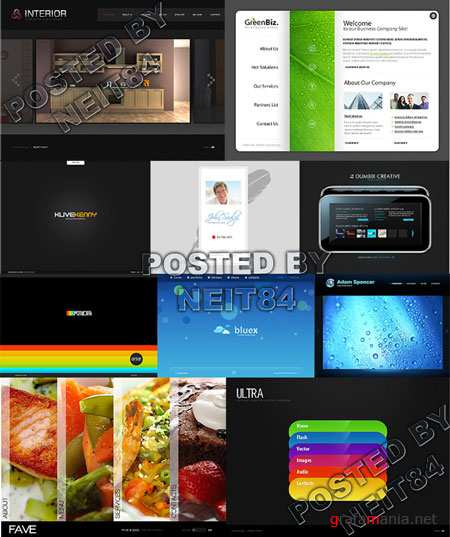 10 Flash Template Website K25 P3