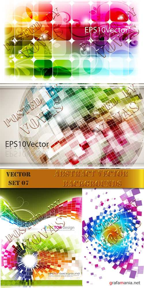 Abstract Vector Backgrounds07