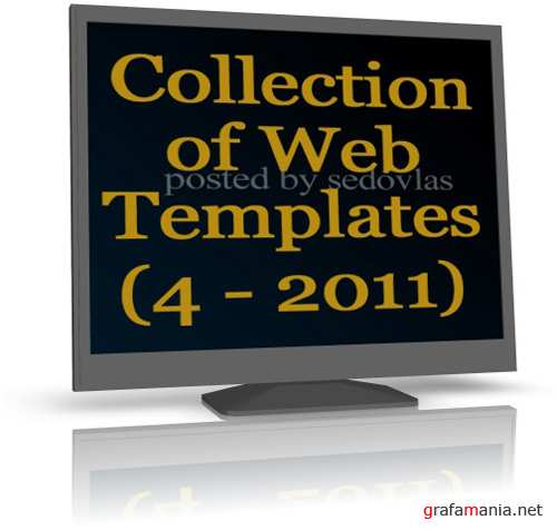Collection of Web  Templates  (4 - 2011)
