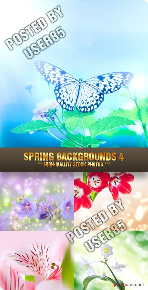 Stock Photo - Spring Backgrounds 4