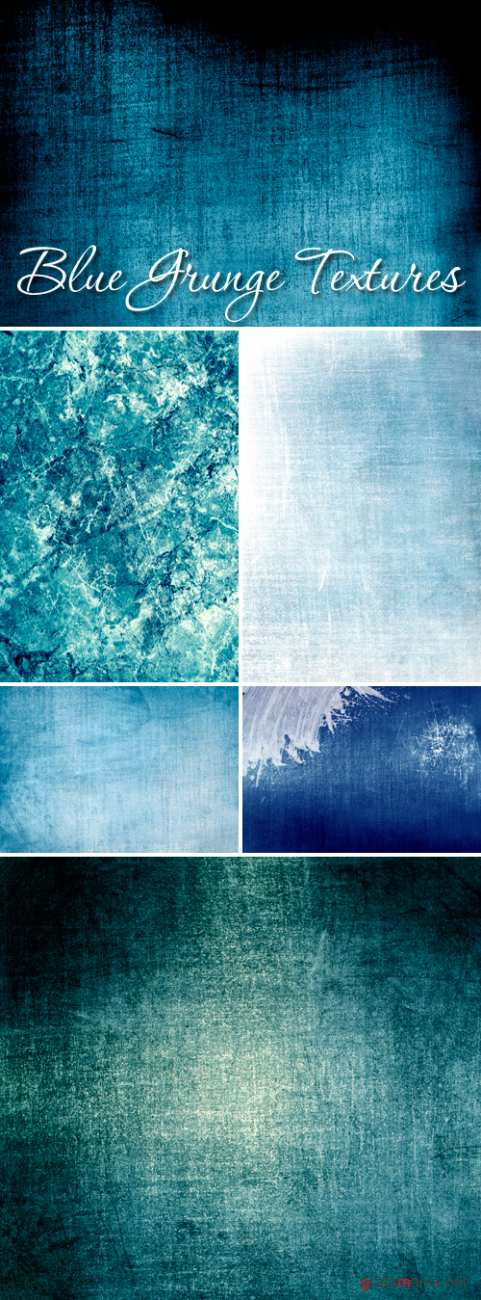 Stock Photo - Blue Grunge Textures 2 | ���� ���� - ����� ��������� ��������