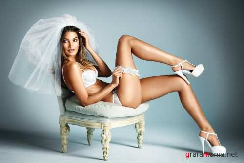 Lily Aldridge – Sexy Little Bride PhotoShoot