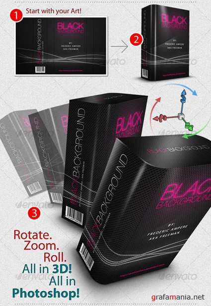 Real 3D Box Generator  Template - GraphicRiver