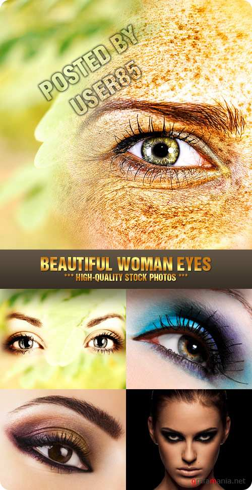 Stock Photo - Beautiful Woman Eyes