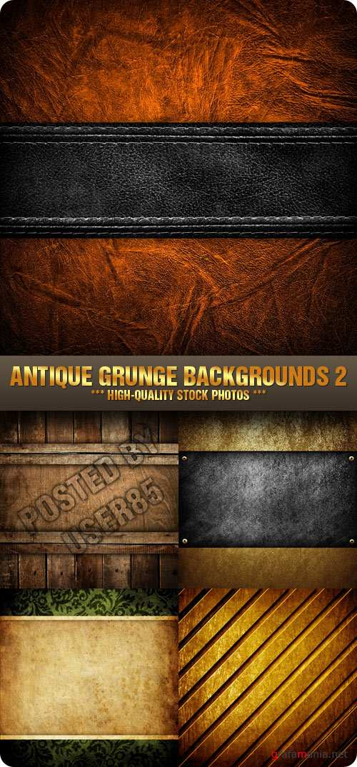 Stock Photo - Antique Grunge Backgrounds 2