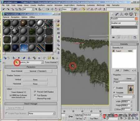 ��������� �� ������ � treestorm �������� ��� 3ds max / treestorm plugin videotutor for 3ds max