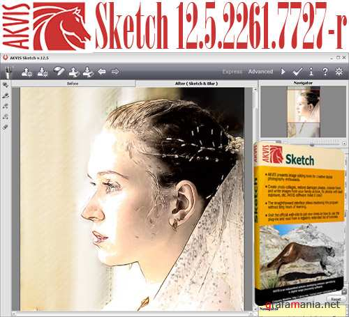 AKVIS Sketch 12.5.2261.7727-r (Multilanguage)